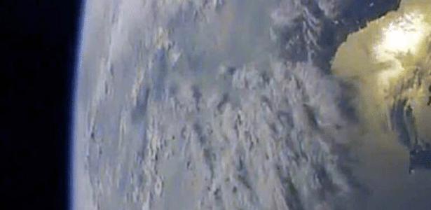 O jornal Rodong Sinmun publicou imagens do planeta feitas a uma grande altura