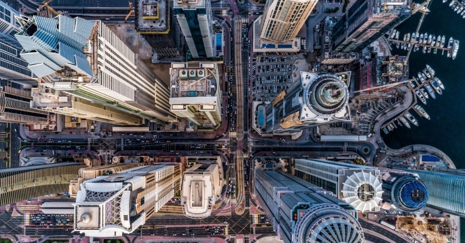 O concurso Dronestagram reúne as fotos mais bacanas tiradas com o auxílio de drones. Anualmente, uma banca julgadora define os melhores cliques submetidos ao site. Acima, o primeiro lugar na categoria urbano