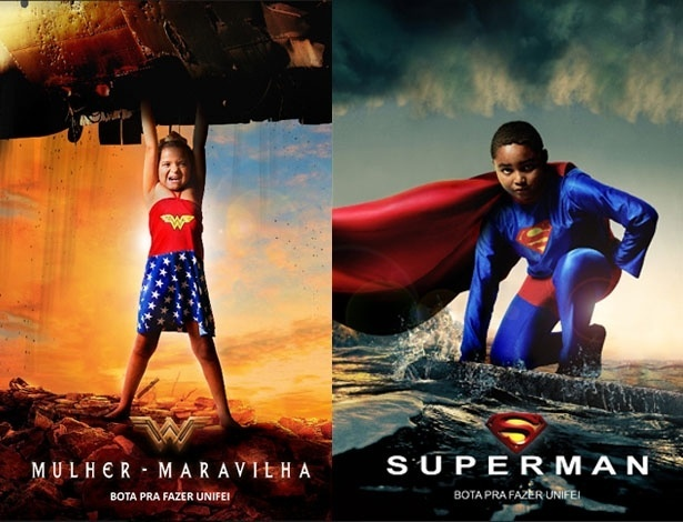 Crianças com deficiências viram super-heróis em ensaio fotográfico