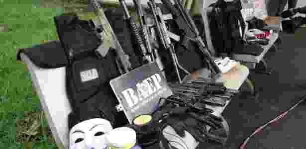 Armas Campinas - Luciano Claudino/Código19/Estadão Conteúdo - Luciano Claudino/Código19/Estadão Conteúdo