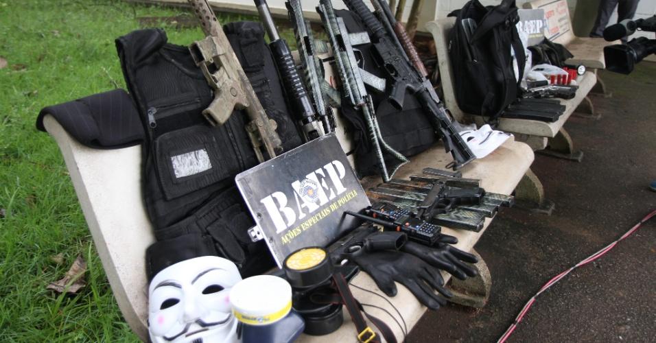 1º.mar.2018 - Uma ação do Batalhão de Ações Especiais (Baep) da Polícia Militar de Campinas, cidade do interior de São Paulo, terminou com sete mortos, todos apostados como criminosos, segundo as autoridades policiais, na noite desta quarta-feira (28). Nenhum policial ficou ferido na ação.