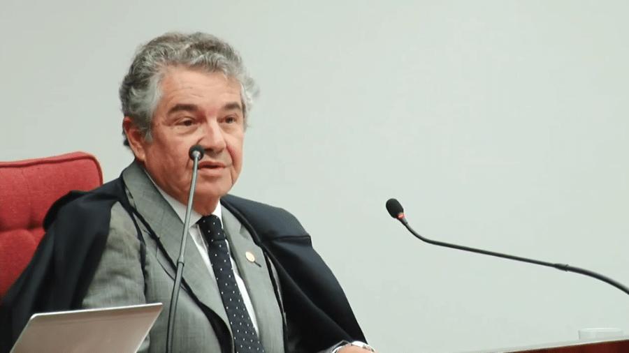 17.abr.2018 - Ministro Marco Aurélio Mello, relator do caso de Aécio Neves - Kleyton Amorim/UOL