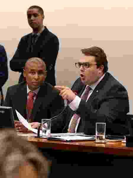 23.abr.2019 - O presidente da CCJ da Câmara, deputado Felipe Francischini (PSL-PR) - Pedro Ladeira/Folhapress