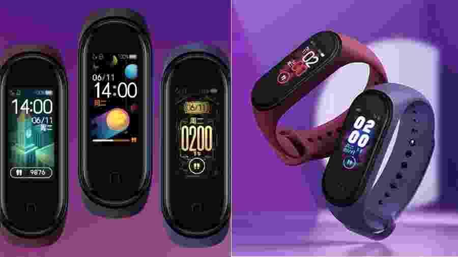 Mi Band 4: tela colorida e acelerômetro estão entre as novidades da nova pulseira da Xiaomi - Divulgação