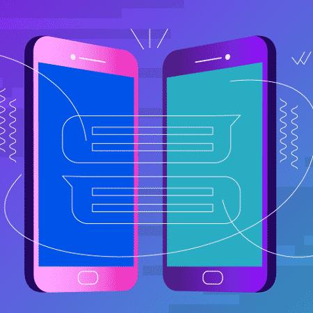 Agora impressão digital ajuda a deixar seu WhastApp mais seguro - Arte UOL
