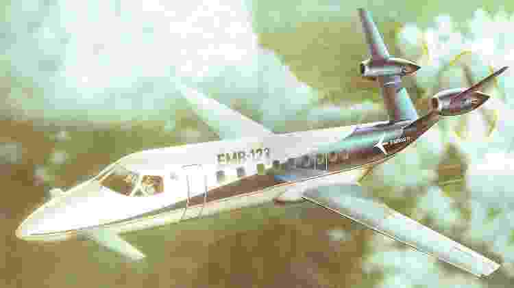 O projeto do EMB-123 foi trocado pelo Brasilia - Revista Flap