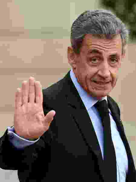 20.set.2019 - O ex-presidente francês Nicolas Sarkozy será julgado por corrupção e tráfico de influência  - Bertrand Guay/AFP