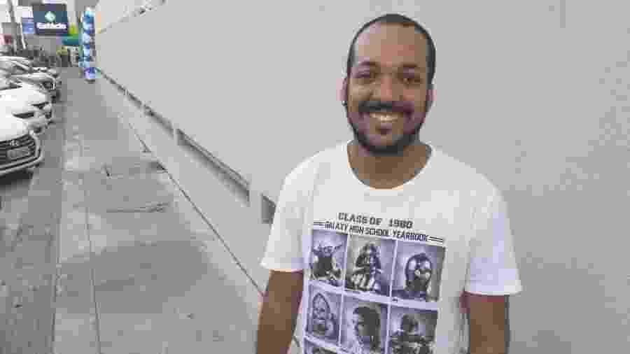 Edson fez o Enem pela quarta vez e pretende cursar direito - Aliny Gama/UOL
