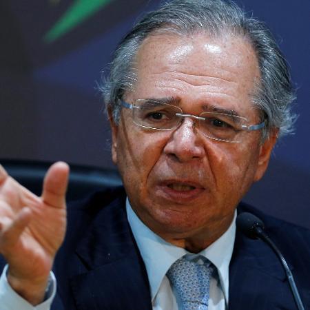 Paulo Guedes, Ministro da Economia,  - Adriano Machado/Reuters