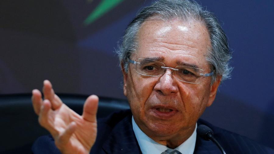 5.nov.2019 - O ministro da Economia, Paulo Guedes - Adriano Machado/Reuters