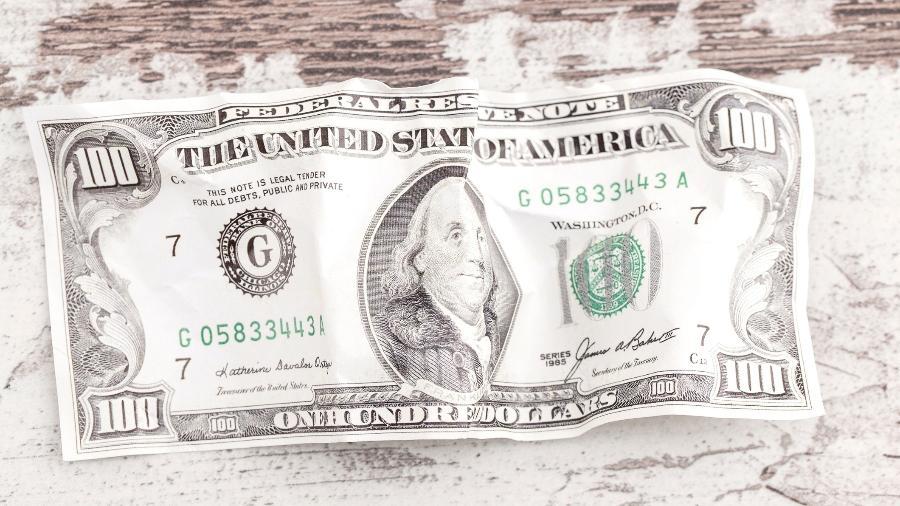 Valor divulgado é referente ao dólar comercial - Getty Images/iStockphoto