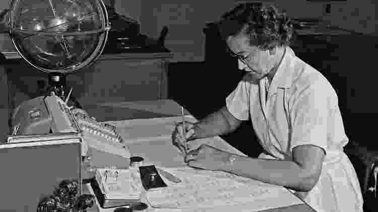 Katherine Johnson, matemática negra que ajudou a Apollo 11 a chegar à Lua - Divulgação/Nasa