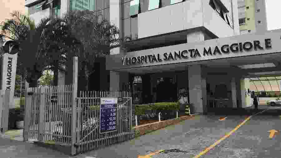 Entrada do hospital em que ocorreram mortes por coronavírus em São Paulo - Felipe Pereira
