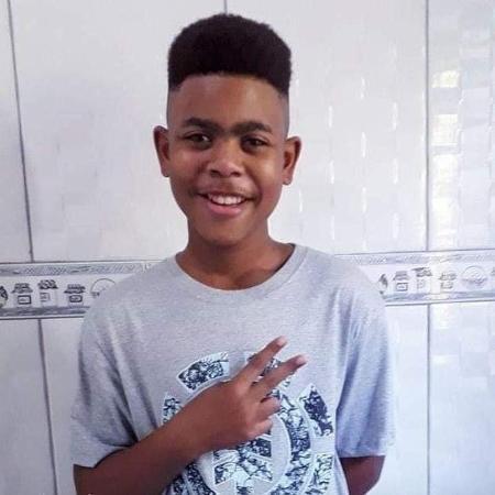 João Pedro, 14, foi morto após operação policial em São Gonçalo (RJ) - Reprodução/Twitter/@_danblaz