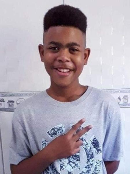 João Pedro, 14, é morto após operação policial em São Gonçalo (RJ) - Reprodução/Twitter/@_danblaz