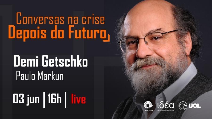 """Demi Getschko é o convidado do """"Conversas na Crise - Depois do Futuro"""" desta quarta (03/06/20) - Arte/IdEA-Unicamp"""