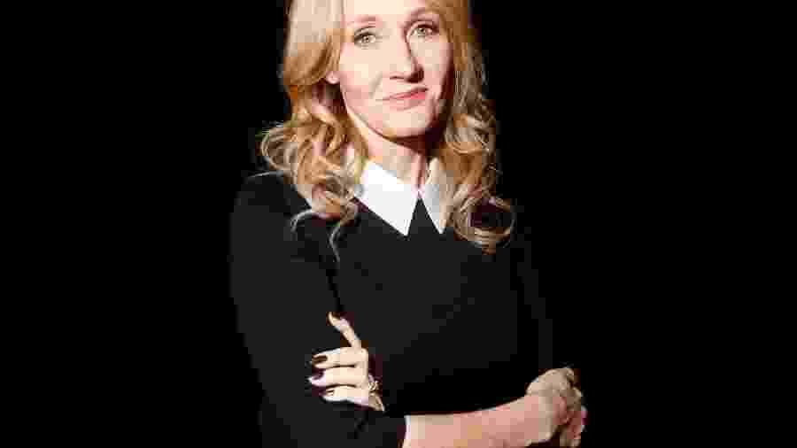 A autora J.K. Rowling - Carlo Allegri