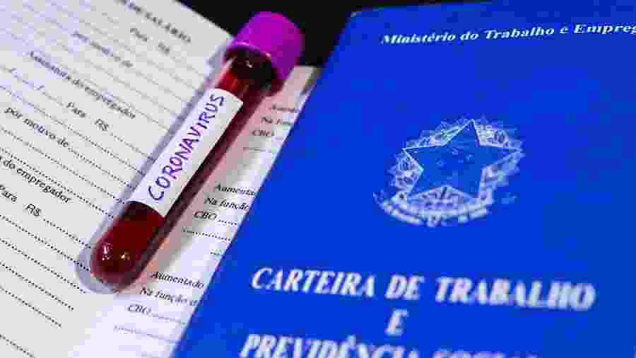 clt, carteira de trabalho, coronavirus, emprego - Cadu Rolim/Fotoarena/Estadão Conteúdo