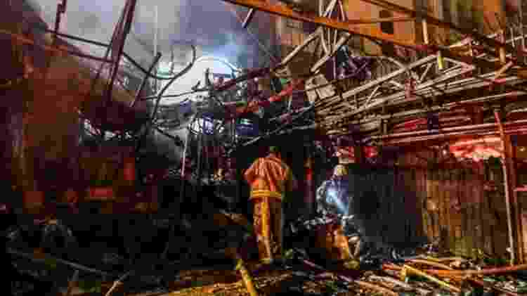 Uma clínica médica em Teerã sofreu um atentado no final do mês passado - AFP/GETTY IMAGES - AFP/GETTY IMAGES