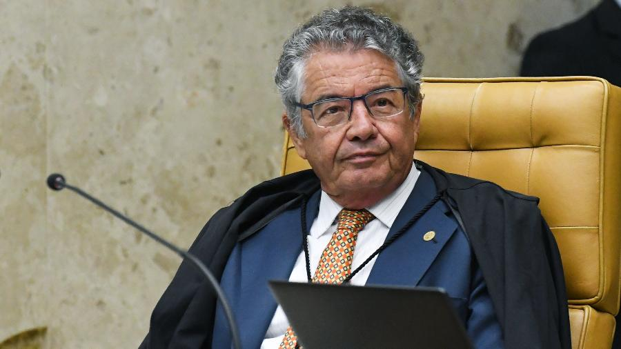 O ministro Marco Aurélio Mello, do Supremo Tribunal Federal (STF) -