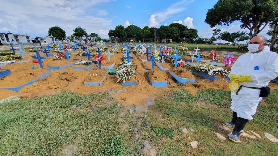 Cemitério em Manaus - Carlos Madeiro/UOL