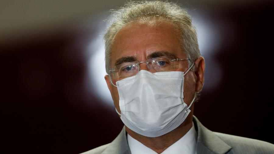 O senador Renan Calheiros (MDB-AL), relator da CPI da Covid - Adriano Machado/Reuters