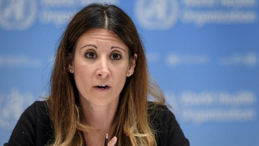 A líder técnica da resposta à pandemia de covid-19 da OMS, Maria Van Kerkhove, afirmou que a variante delta está em mais de 80 países atualmente - Fabrice Coffrini/Reuters