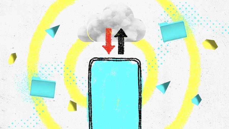 Ter 32 GB de memória no celular hoje em dia já não dá para quase nada - Arte UOL