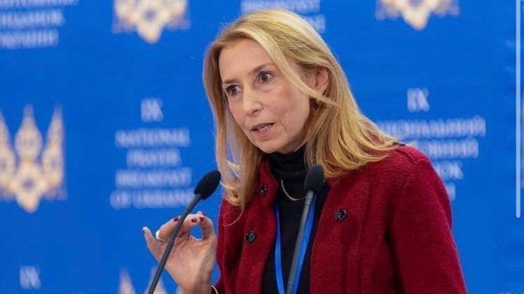 Discurso de Angela Gandra em Kiev - Reprodução - Reprodução