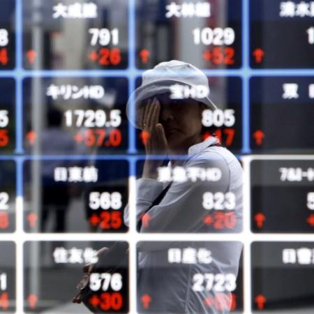 No Japão, núcleo dos preços ao consumidor em todo o país caiu 0,4% em fevereiro  - Yuya Shino/Reuters