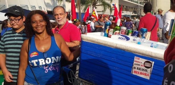 """""""A gente votou nela, eles que entrem pelo voto"""", diz Izabel"""