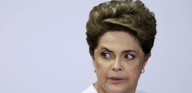 Dilma durante cerimônia de transferência de terras para o Estado do Amapá, na sexta-feira