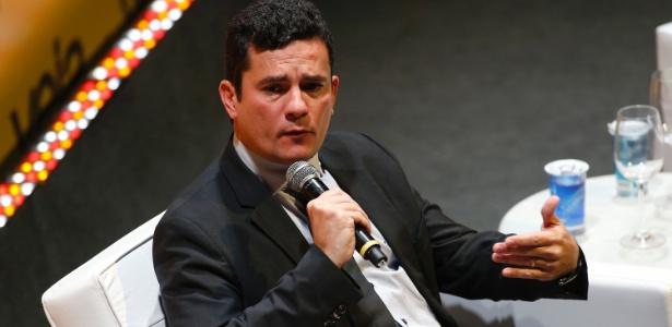 23.mai.2016 - O juiz federal Sérgio Moro, responsável pela Operação Lava Jato, participa do seminário em São Paulo