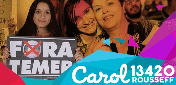Reprodução/Facebook.com/CarolinaRousseff