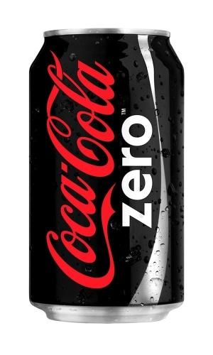 Lata de 335ml de Coca-Cola Zero