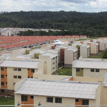 Conjuntos residenciais Viver Melhor I e II, em Manaus, construídos no programa Minha Casa Minha Vida - Caixa Econômica Federal/Arquivo