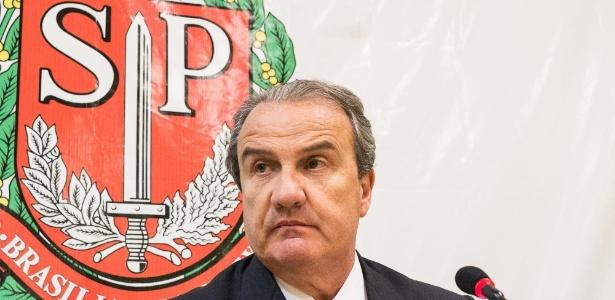 """O secretário Mágino Alves afirma que """"a polícia precisa estar bem equipada"""""""