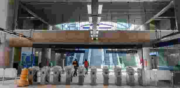 estação Brooklin  - Tiago Queiroz/Estadão Conteúdo - Tiago Queiroz/Estadão Conteúdo