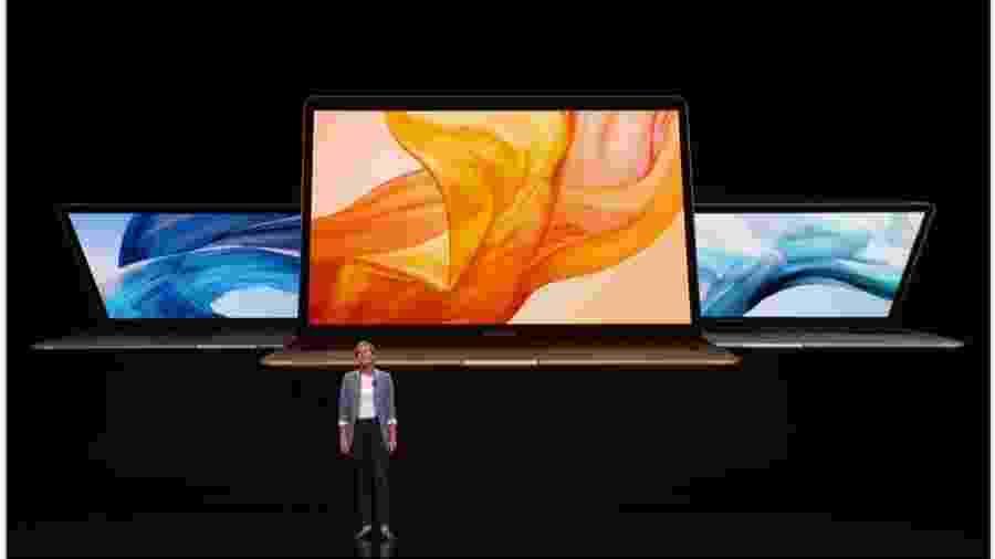 Apple apresenta Macbook Air - Reprodução
