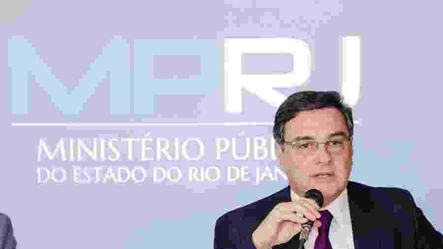 O procurador-geral de Justiça, José Eduardo Gussem - Divulgação - 28.jun.2018/MP-RJ