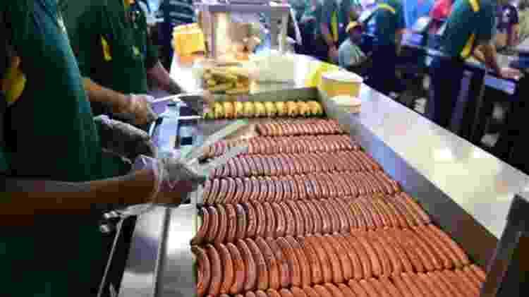 As salsichas Nathan's e Feltman são vendidas em supermercados dos Estados Unidos e de outros países. - Getty Images