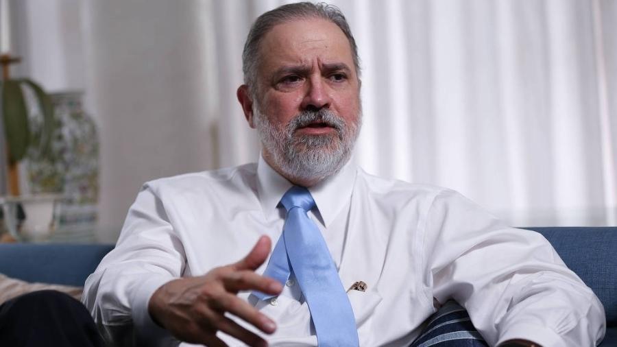 O subprocurador-geral da República Augusto Aras foi indicado por Bolsonaro para chefiar a PGR - Pedro Ladeira /Folhapress