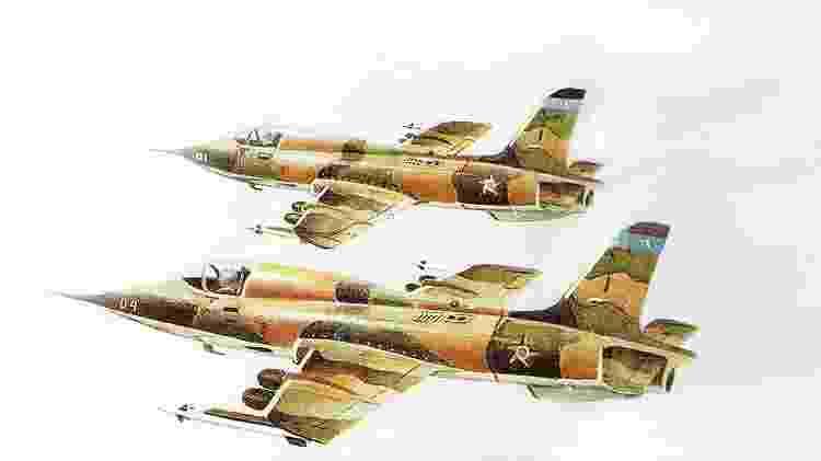 Caça EMB-330/A1 não cumpria com todas as necessidades da Aeronáutica e, por isso, foi abandonado - Revista Flap