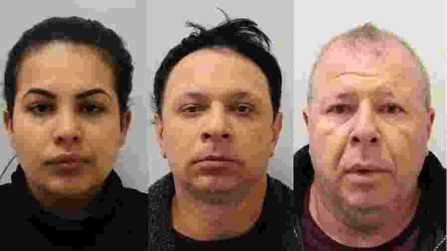 Três brasileiros - Flavia, Renato e Raul Sacchi - eram os cabeças de uma quadrilha que explorava mulheres, vendia drogas e controlava bordéis clandestinos em Londres, segundo a polícia - LONDON METROPOLITAN POLICE