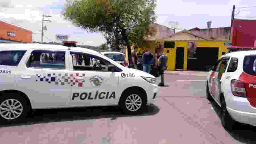 Local onde PMs e criminosos trocaram tiros em Piracicaba - 14.dez.2019 - Divulgação