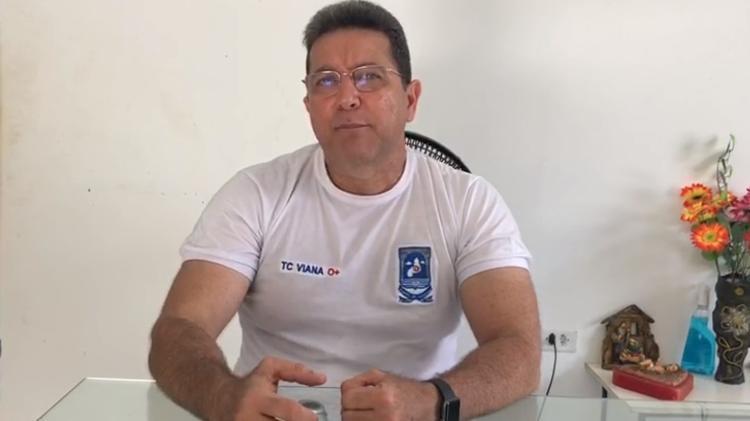 Em áudio, Edwaldo Viana defende que suspeitos de crimes sejam mortos pela PM - Reprodução/Redes sociais