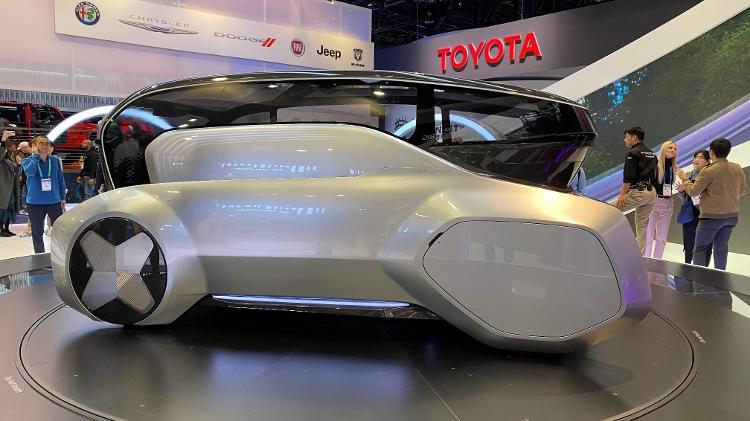 Carro futurístico da Hyundai na CES 2020 - Gabriel Francisco Ribeiro/UOL