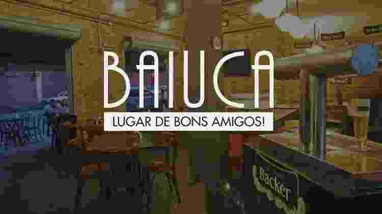 Bar Baiuca divulga cervejaria Backer em seu site - Divulgação