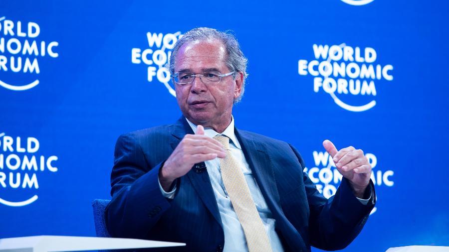 Segundo Maia, a declaração de Guedes trouxe para o debate quem não vai ter sua vida alterada - World Economic Forum/Ciaran McCrickard