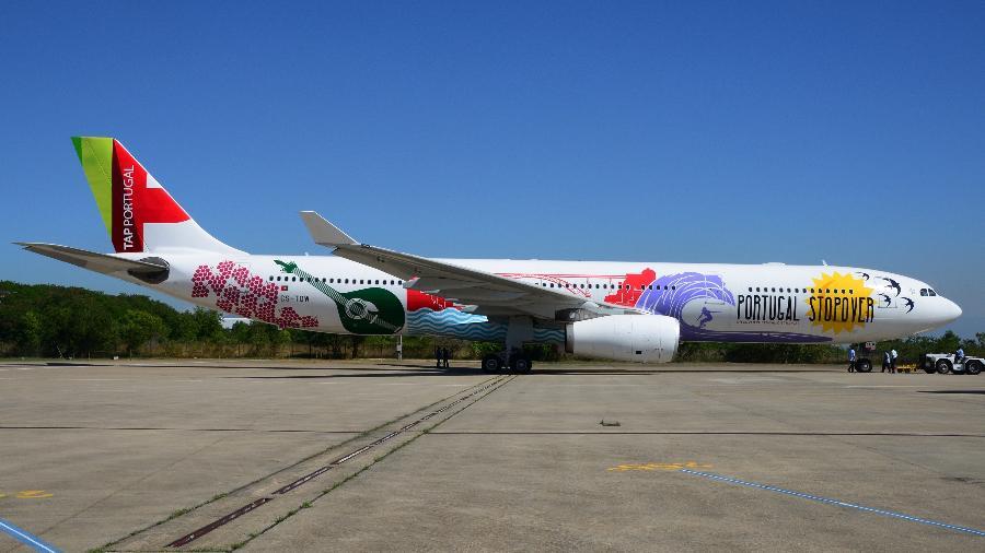 Outro projeto feito para a TAP promoveu o programa de stopover da companhia aérea - Gianfranco Beting